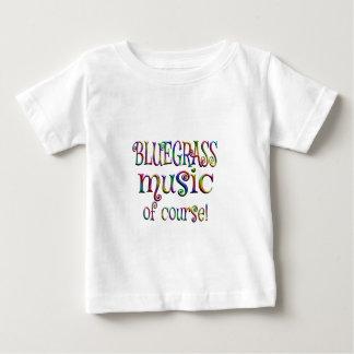 Camiseta Para Bebê Bluegrass naturalmente