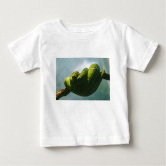 Camiseta Para Bebê Boa verde da árvore