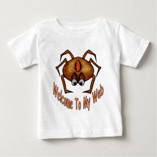 Camiseta Para Bebê Boa vinda a minha Web