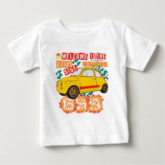 Camiseta Para Bebê Boa vinda ao lado errado da trilha