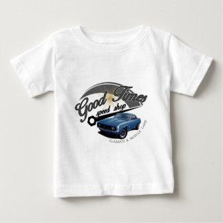Camiseta Para Bebê Boas épocas Camaro