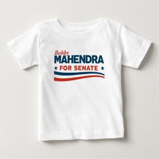 Camiseta Para Bebê Bobby Mahendra para o Senado