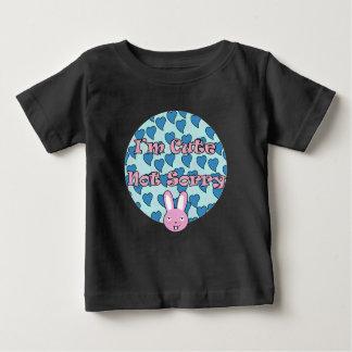 Camiseta Para Bebê Bodysuit bonito do bebê do coelho