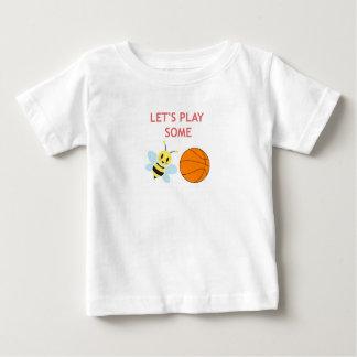 Camiseta Para Bebê Bola da abelha