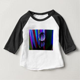 Camiseta Para Bebê Bola de cristal de flutuação