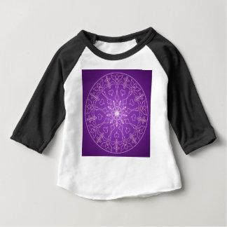 Camiseta Para Bebê Bola de cristal do deus do anjo da mandala do