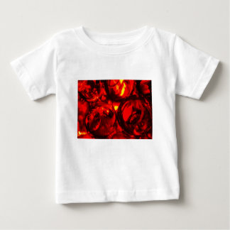 Camiseta Para Bebê Bolas abstratas do gel