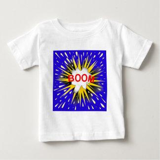 Camiseta Para Bebê Bolha dos desenhos animados do crescimento