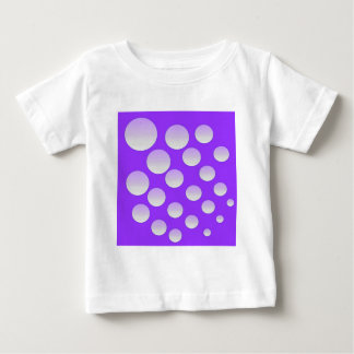 Camiseta Para Bebê Bolhas