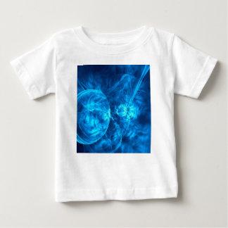 Camiseta Para Bebê bolhas azuis