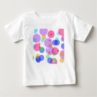Camiseta Para Bebê Bolhas coloridas