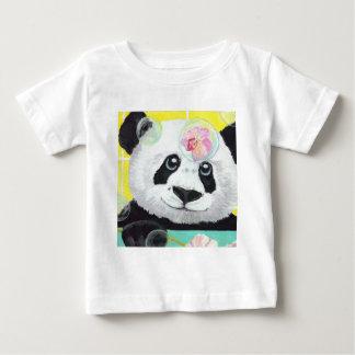 Camiseta Para Bebê Bolhas da panda