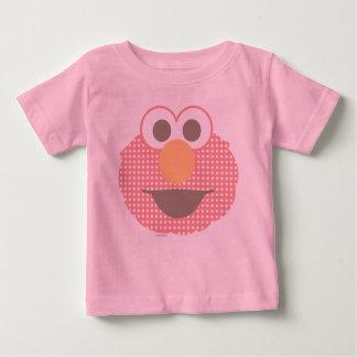 Camiseta Para Bebê Bolinhas grandes da cara de Elmo do bebê