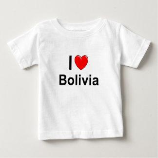Camiseta Para Bebê Bolívia