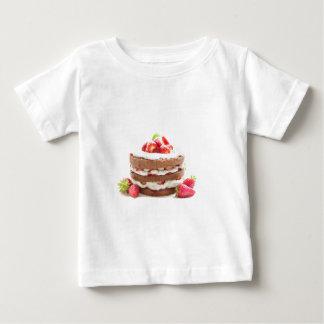 Camiseta Para Bebê bolo