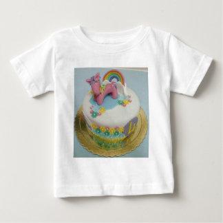 Camiseta Para Bebê Bolo 1 do pônei