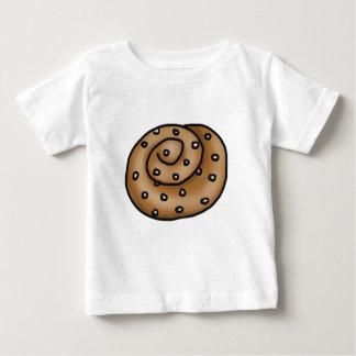 Camiseta Para Bebê Bolo de canela