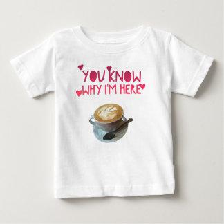 Camiseta Para Bebê Bolsa de estudo bêbeda anónima do AA do café
