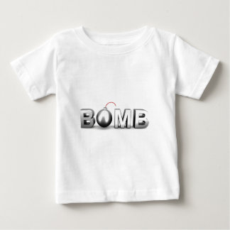 Camiseta Para Bebê Bomba