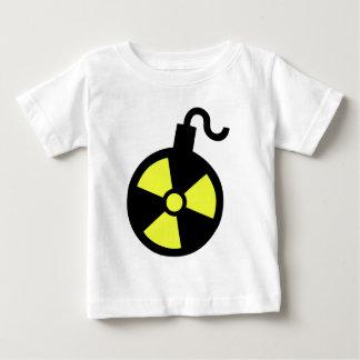 Camiseta Para Bebê Bomba nuclear