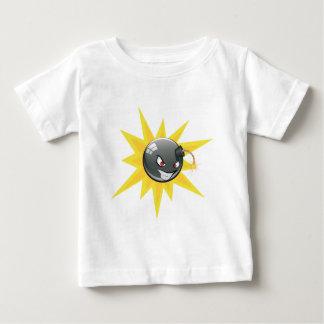 Camiseta Para Bebê Bomba redonda má