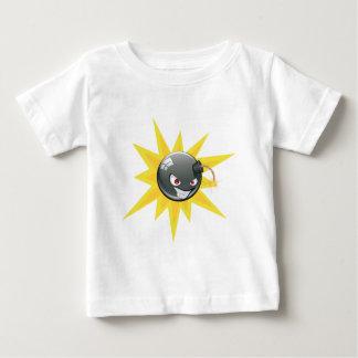 Camiseta Para Bebê Bomba redonda má 2