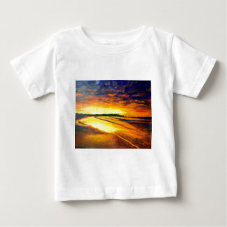 Camiseta Para Bebê Bondi no crepúsculo