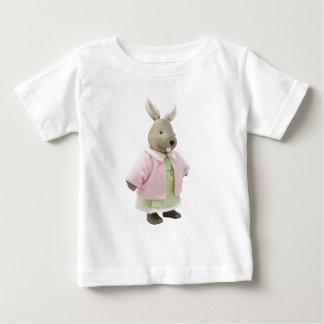Camiseta Para Bebê Boneca do coelho