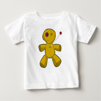 Camiseta Para Bebê Boneca do Voodoo