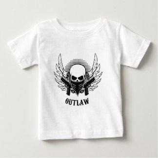 Camiseta Para Bebê Bonito FORAGIDO, bonito,