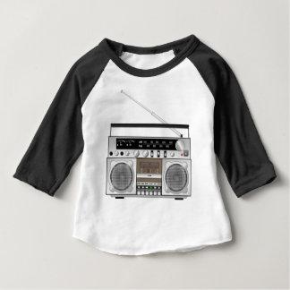 Camiseta Para Bebê Boombox