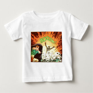 Camiseta Para Bebê Boooom!