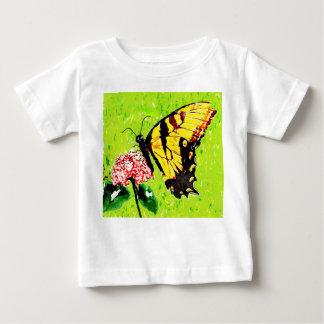 Camiseta Para Bebê Borboleta ambos os lados, Bugly a borboleta,