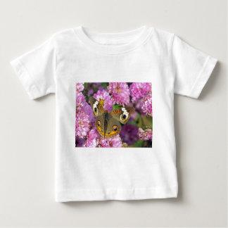 Camiseta Para Bebê Borboleta comum do Buckeye