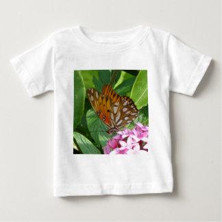Camiseta Para Bebê Borboleta da videira da paixão