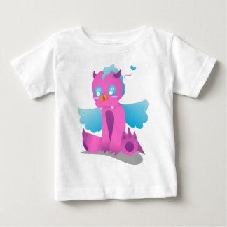 Camiseta Para Bebê Borboleta no nariz Spiffy o dragão