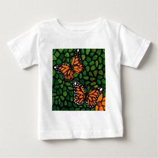 Camiseta Para Bebê borboletas