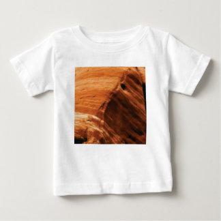 Camiseta Para Bebê borda mergulhada da rocha