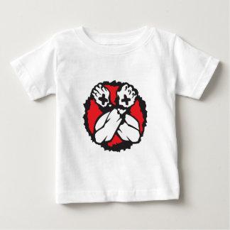Camiseta Para Bebê Borda reta (d)