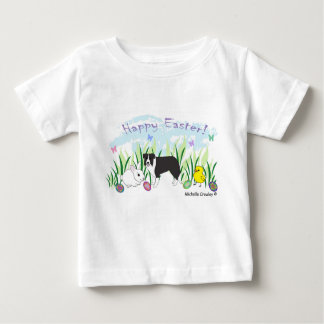 Camiseta Para Bebê border collie