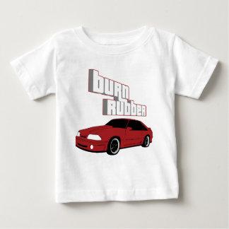Camiseta Para Bebê borracha da queimadura