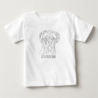 Camiseta Para Bebê Borracho pequeno do pugilista