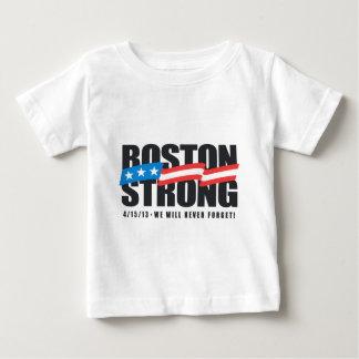 Camiseta Para Bebê Boston forte