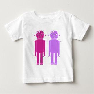 Camiseta Para Bebê Bot da menina