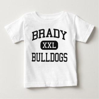 Camiseta Para Bebê Brady - buldogues - segundo grau de Brady - Brady