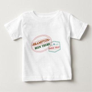 Camiseta Para Bebê Brampton feito lá isso