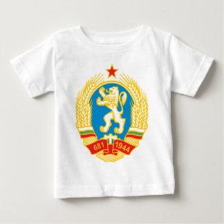 Camiseta Para Bebê Brasão 1971 de Bulgária
