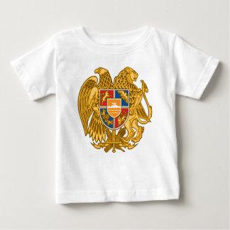 Camiseta Para Bebê Brasão de Arménia - emblema arménio