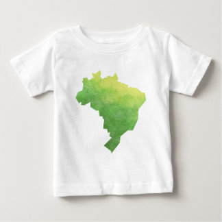 Camiseta Para Bebê Brasil