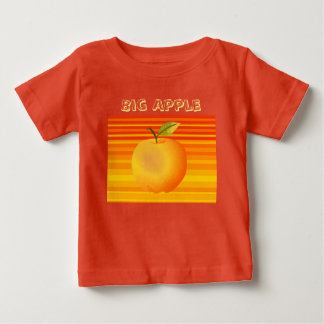 Camiseta Para Bebê Brilhante artístico da fruta vibrante grande dos